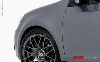 18 VMR V718 Gun Metal Wheels Rims Fit Volkswagen Golf Rabbit GTI