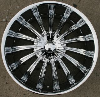 Helios KR07 20 Chrome Rims Wheels Chevrolet Trailblazer
