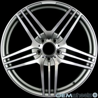 19 Gunmetal Sport Wheels Fits Mercedes Benz AMG Staggered C280 C350