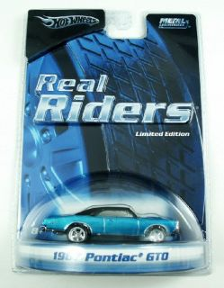 Hot Wheels Real Riders 67 Pontiac GTO