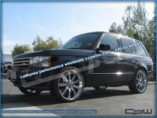 24 inch Range Rover Sport Chrome Wheels Rims Land Rover Stormer 20 22