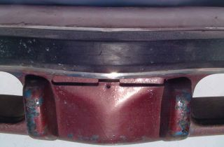 This is an original 1974 1975 Grand Am complete front bumper assembly.
