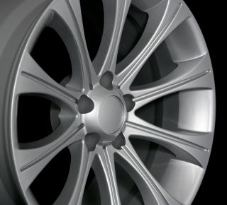 19x8 5 9 5 Staggered BMW M5 Style Silver Rim Wheel Fit BMW 525 528 535