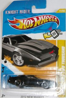 2012 Hot Wheels Knight Rider Kitt 2000 Knight Industries Two Thousand