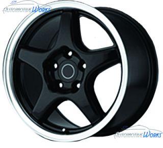 Corvette C4 ZR1 5x120.65 5x4.75 +54mm Chrome Wheels Rims Inch 17
