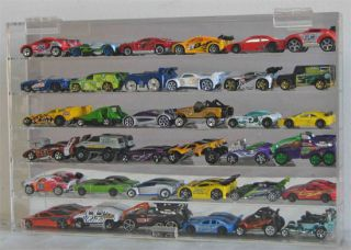 Hot Wheels Redline 164 Scale Diecast Display Case. (#AHW64 30)