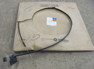 76 77 78 Dodge Aspen Dart Duster Fury Temp Control Cable A C 3846046