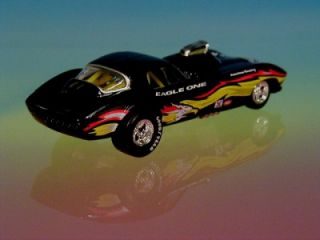 Hot Wheels 67 Chevy Corvette Funny Car Eagle One Racing 1 64 Scale