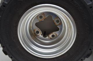 08 Suzuki LTR450 Rear Wheel Rims 18 Dunlop Tires Quadracer Lt R450