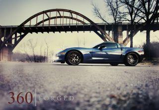 Corvette C6 Z06 ZR1 360 Forged Concave Wheels Full Carbon