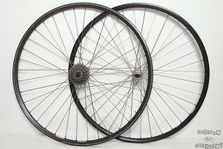 36 Hole Campagnolo Record 700c Clincher Road Bike Wheels