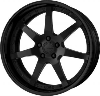 19 Work Gnosis GS 3 Black Rims Wheels x3 E36 E46 Z4 M3