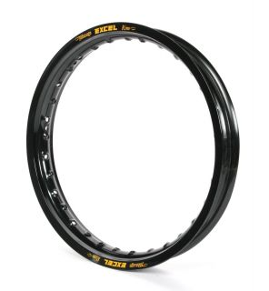 Excel Rear Replacemen Rim for Pro Series Wheels 19x2 50 Black GFK412N