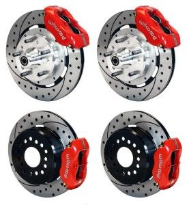 Rear Disc Brake Kit Wilwood 69 74 Ford Mercury 140 11074 Dr