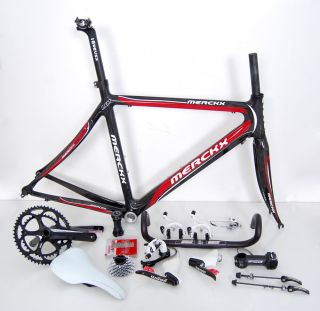 New Eddy Merckx LXM Full Carbon Road Bike Kit SRAM FSA Selle Italia