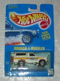 1989 Mattel Hot Wheels Bronco 4 Wheeler 56 New Paint Diecast