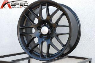 18x8 CSL Style 5x120 37 Black Wheel Fit BMW E83 x3 E46 E90 325 328 330