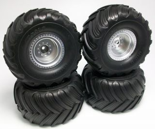 Free Shipping Traxxas Tires Wheels Stampede Monster Jam Grave Digger