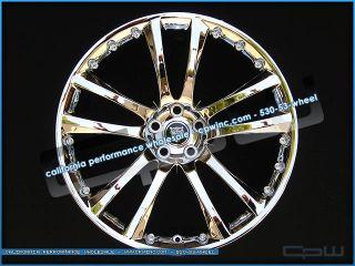 Jaguar XF Chrome Wheels Rims Senta II 20 Fits All 2007 2012 Models