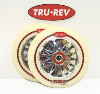 Replacement Wheels Trurev Turbo Kit Speed Wheels w Titanium Bea