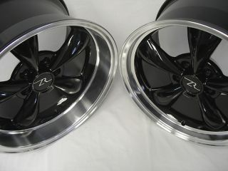 Mustang ® Black Bullitt Wheels 17x9 & 17x10.5, 17 inch Rims 94 04
