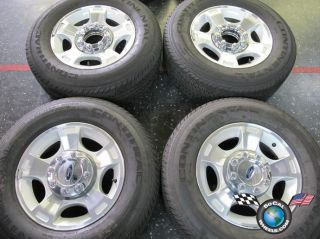 Ford F250 F350SD Factory 18 Wheels Tires OEM Rims Conti 275/65/18 3790