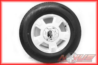 FORD F150 EXPEDITION FX4 FX2 OEM MACHINED WHEELS HANKOOK TIRES 18 20