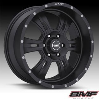 20x9 Flat Black BMF Rehab Wheels 6x135 0 Lifted Ford Expedition F 150