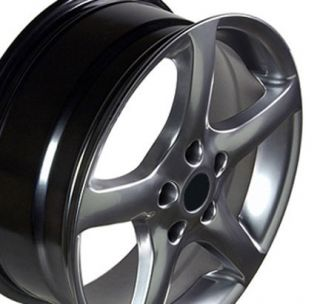 17 Altima Hyper Black Wheels Set of 4 Rims Fit Nissan 300zx Maxima