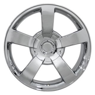 20 Silverado SS Chrome Wheels Set of 4 Rims Fits Chevrolet