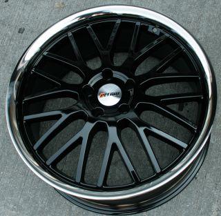 Petrol Vengeance 20 Black Rims Wheels Acura TL TSX