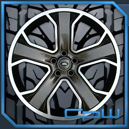 Rover Sport LR3 LR4 22 inch Wheels Rims Tires Package Gunmetal