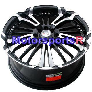 16 XXR 001 Black Machine Face Rims 4x114 3 93 94 97 98 02 Honda Accord