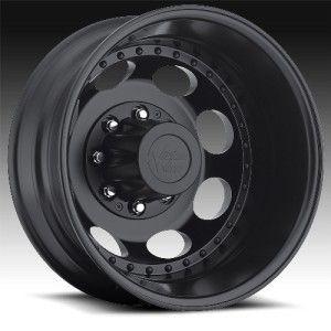 19 inch Vision Hauler Dually black wheel rim 8x6.5 RAM 2500 + 3500