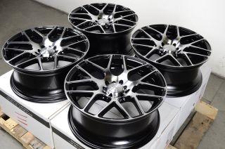 Black Wheels Veracruz Saleen RSX Sable Forester WRX 5 Lug Rims