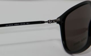 New Giorgio Armani Sunglasses GA 924 s ANSL8 Black Authentic Italy