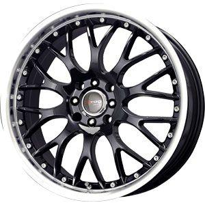 New 17X7.5 5 105/5 110 Dr19 GLOSS BLACK MACHINED Wheels/Rims