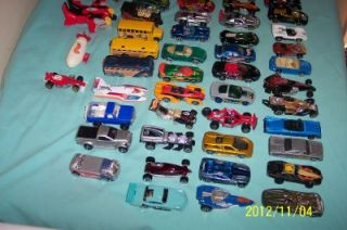 Hotwheels Huge Lot of 79 Cars Buses and Trucks Some May Be RARE
