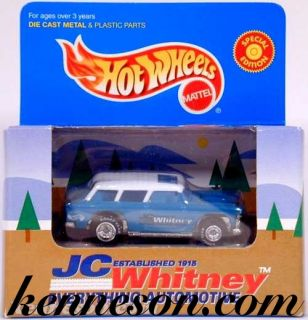 Classic 55 Nomad Chevy Turquoise JC Whitney Hot Wheels