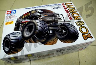 Tamiya # 58546 RC Lunch Box Black Edition   1/12 * w / ESC * NEW IN