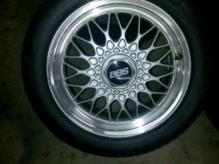 Original 15 BBs Mesh Rims Wheels BMW E30 Miata Scion XB Honda Civic