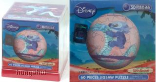 Disney Experiment Lilo Stitch 626 Dragon Spherical Jigsaw Puzzle 3 60