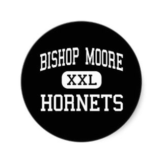 Bishop Moore   Hornets   High   Orlando Florida Stickers