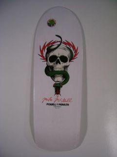 Powell Peralta Mike McGill Skull and Snake Skateboard Deck White