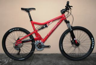 2012 Santa Cruz Superlight Full Suspension Mountain Bike Shimano Large