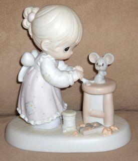 1997 Precious Moments Figurine BLESSED ARE THE MERCIFUL Members Only