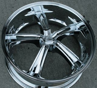 RVM 489 22 Chrome Rims Wheels Lexus ES330 GS300 SC300