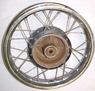 78 Suzuki DS80 DS 80 Rear Wheel Rim 1 60 x 12