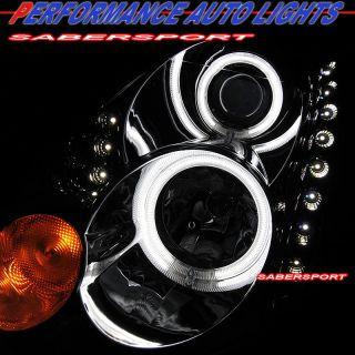 Infiniti G35 Coupe Halo Projector Headlights LED Chrome