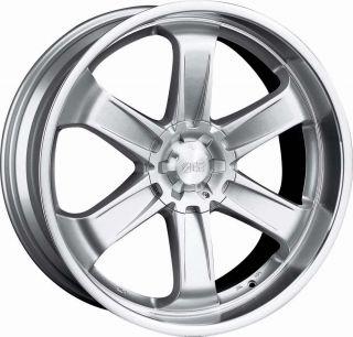 22 Silver Wheels Rims Chevy Tahoe Suburban GMC Yukon 1500 5x127